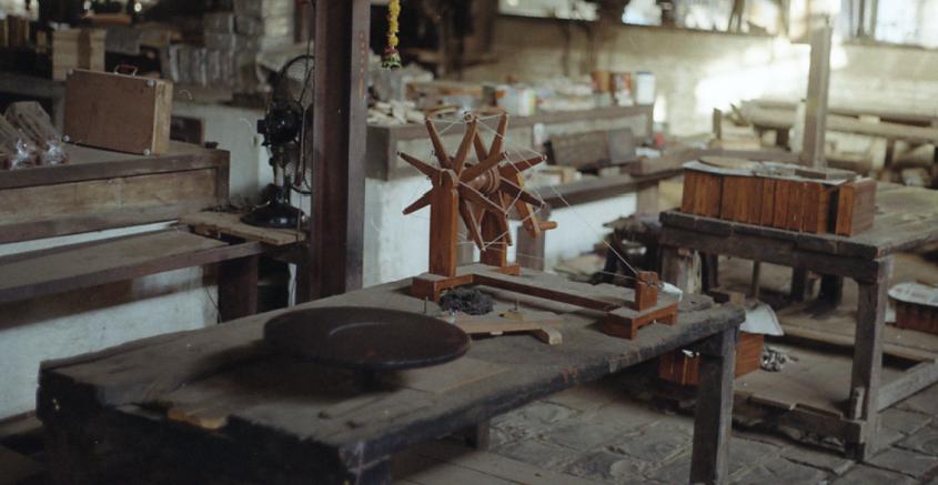 spinning wheel charkha