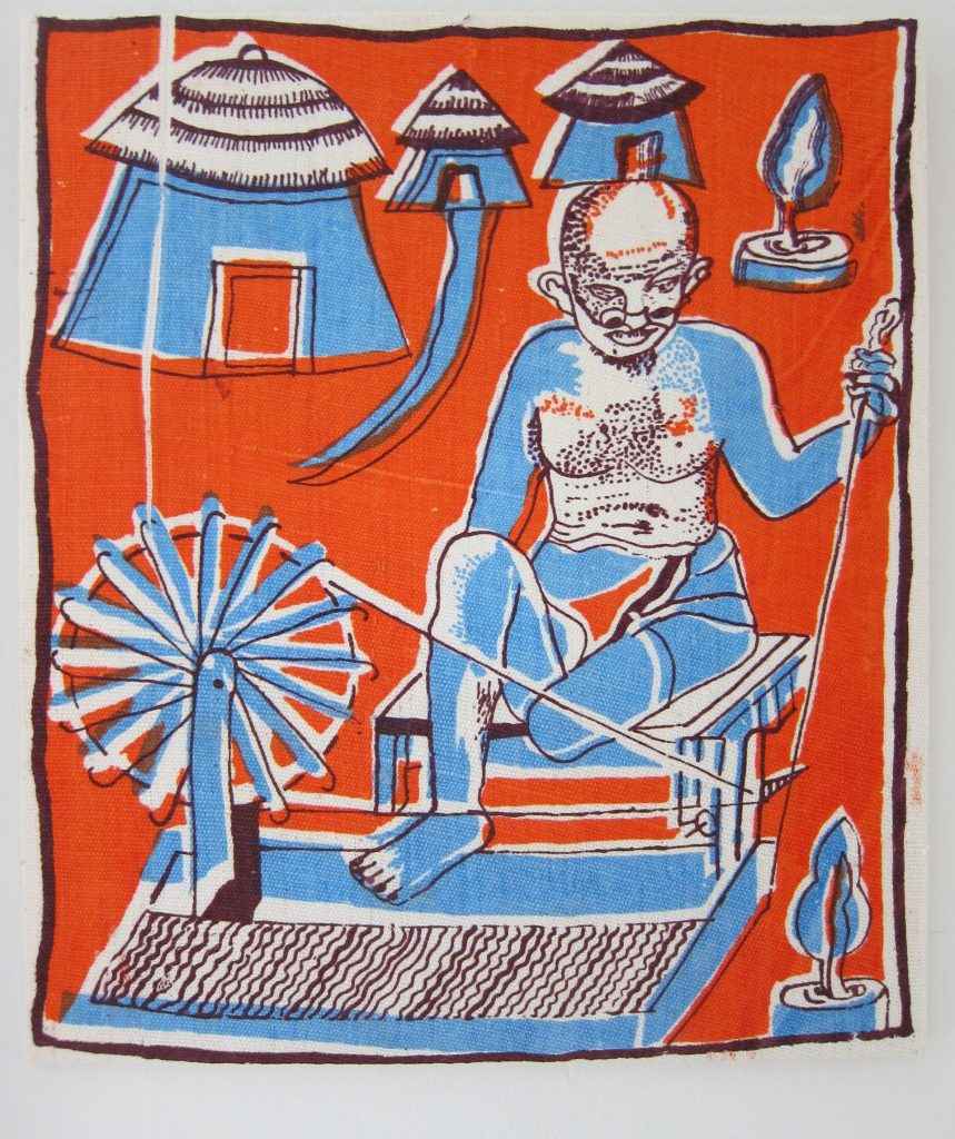 khadi gandhi jhola artists