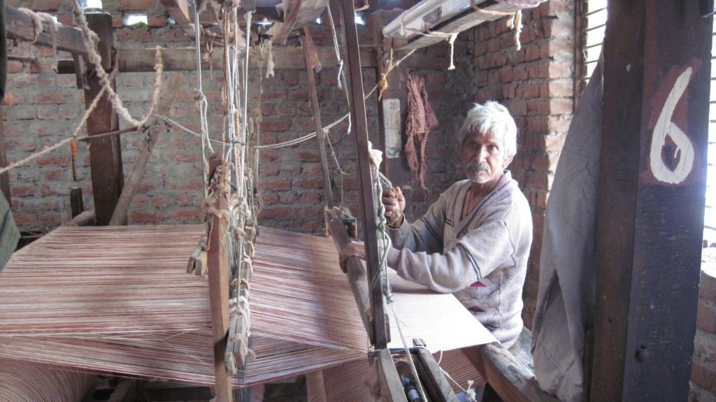 weaving stories khadi jhola