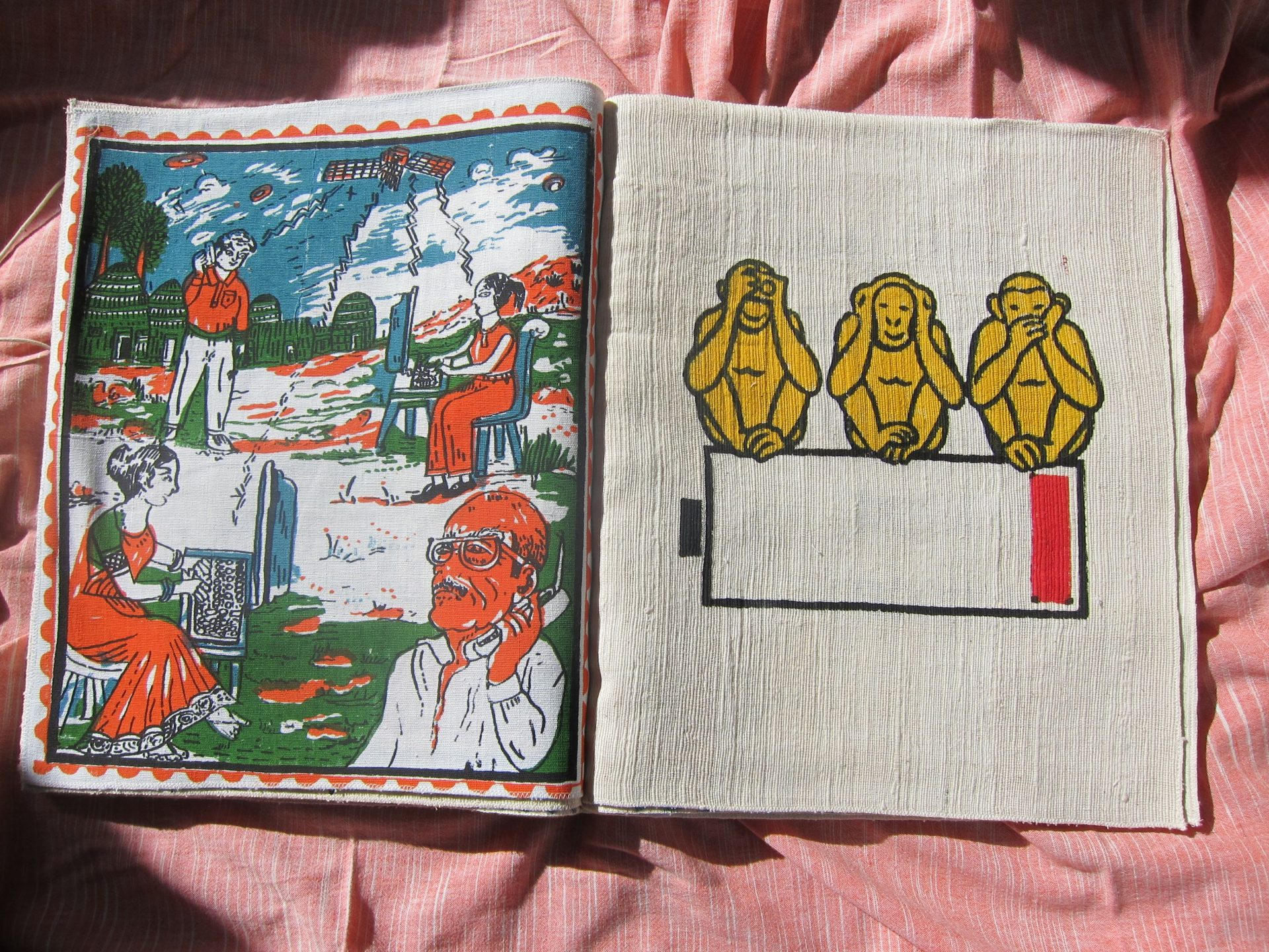 Weaving Stories: Artists in collaborations with Gandhi Ashrams (Part 2)