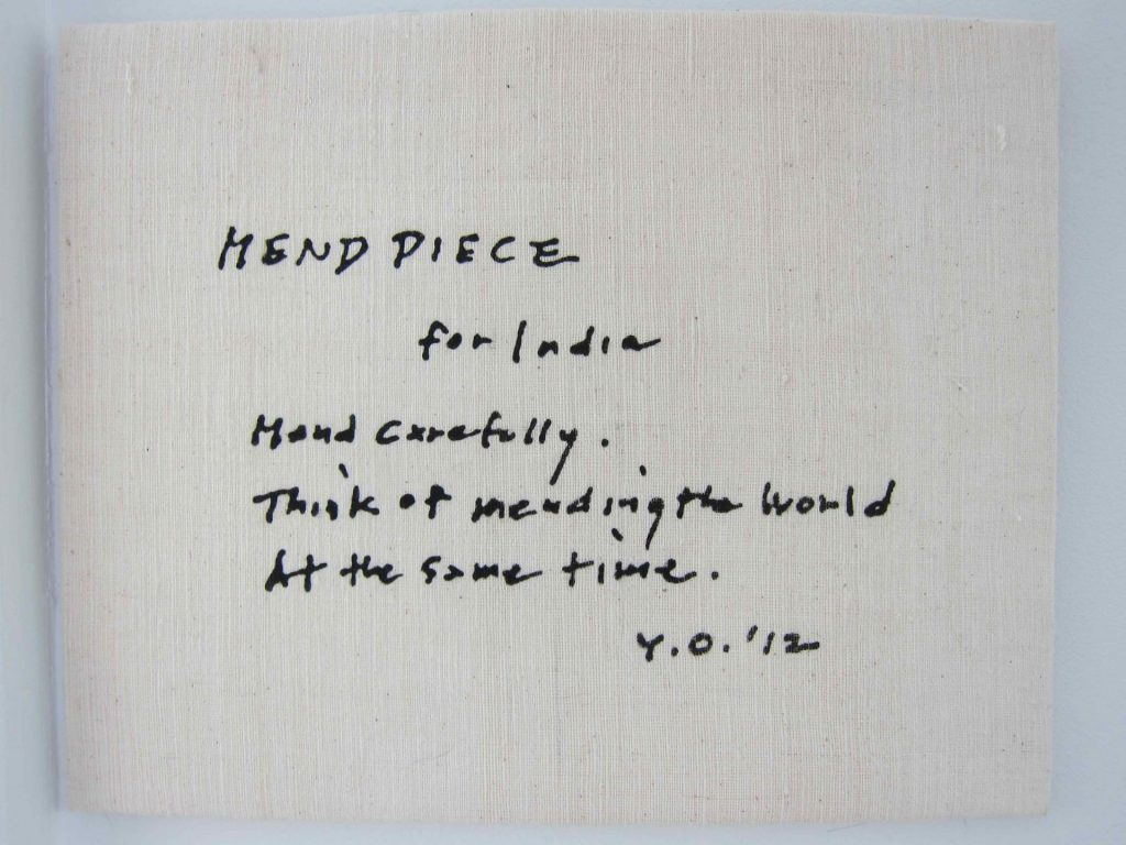 Weaving Stories Yoko Ono