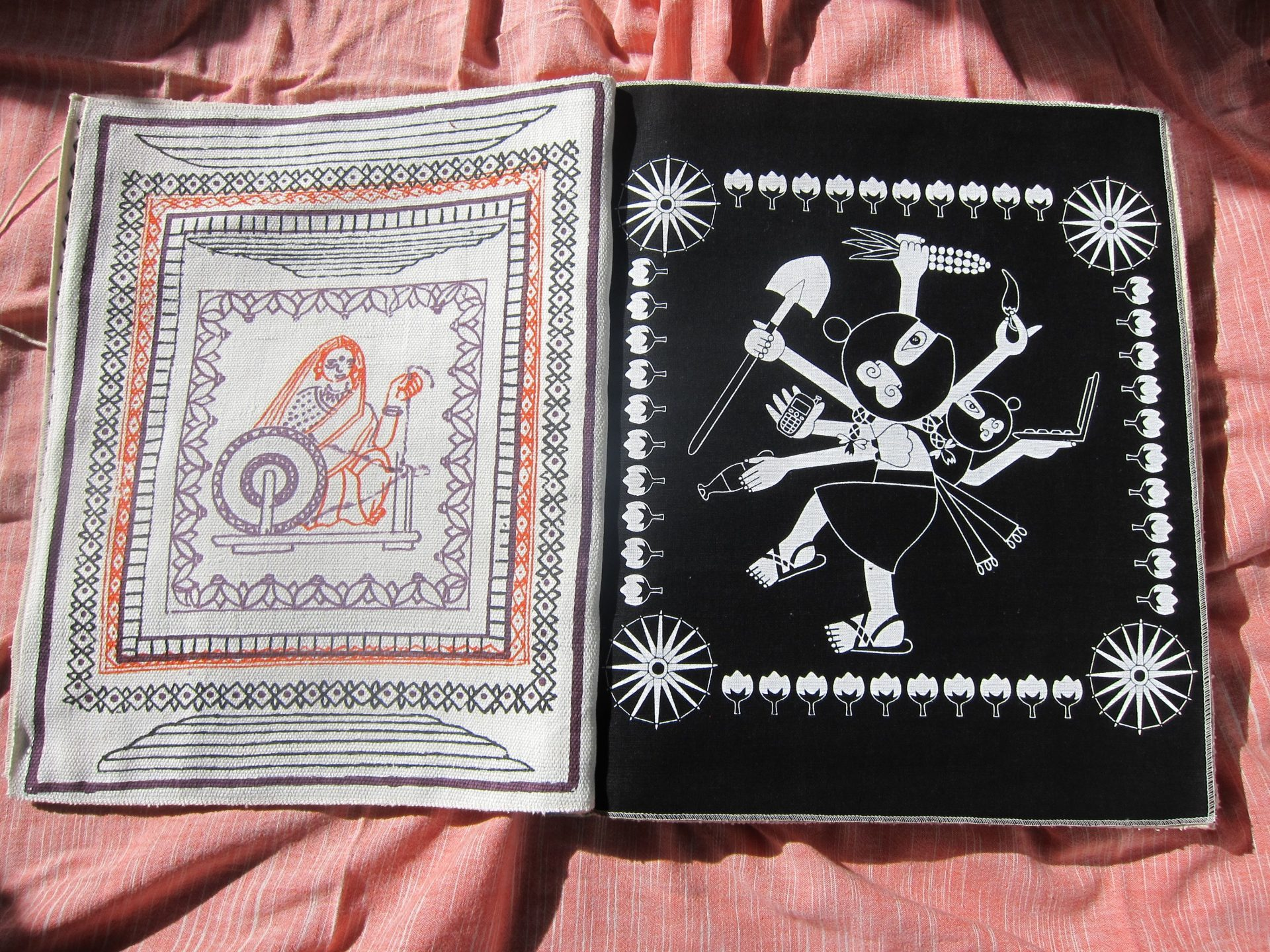 Weaving Stories: Artists in collaboration with Gandhi Ashrams: Part 5