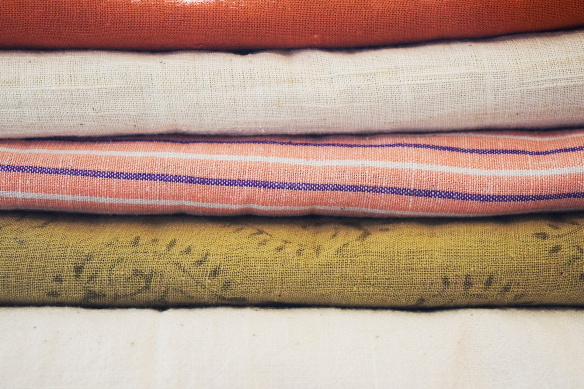 Cotton khadi fabric.