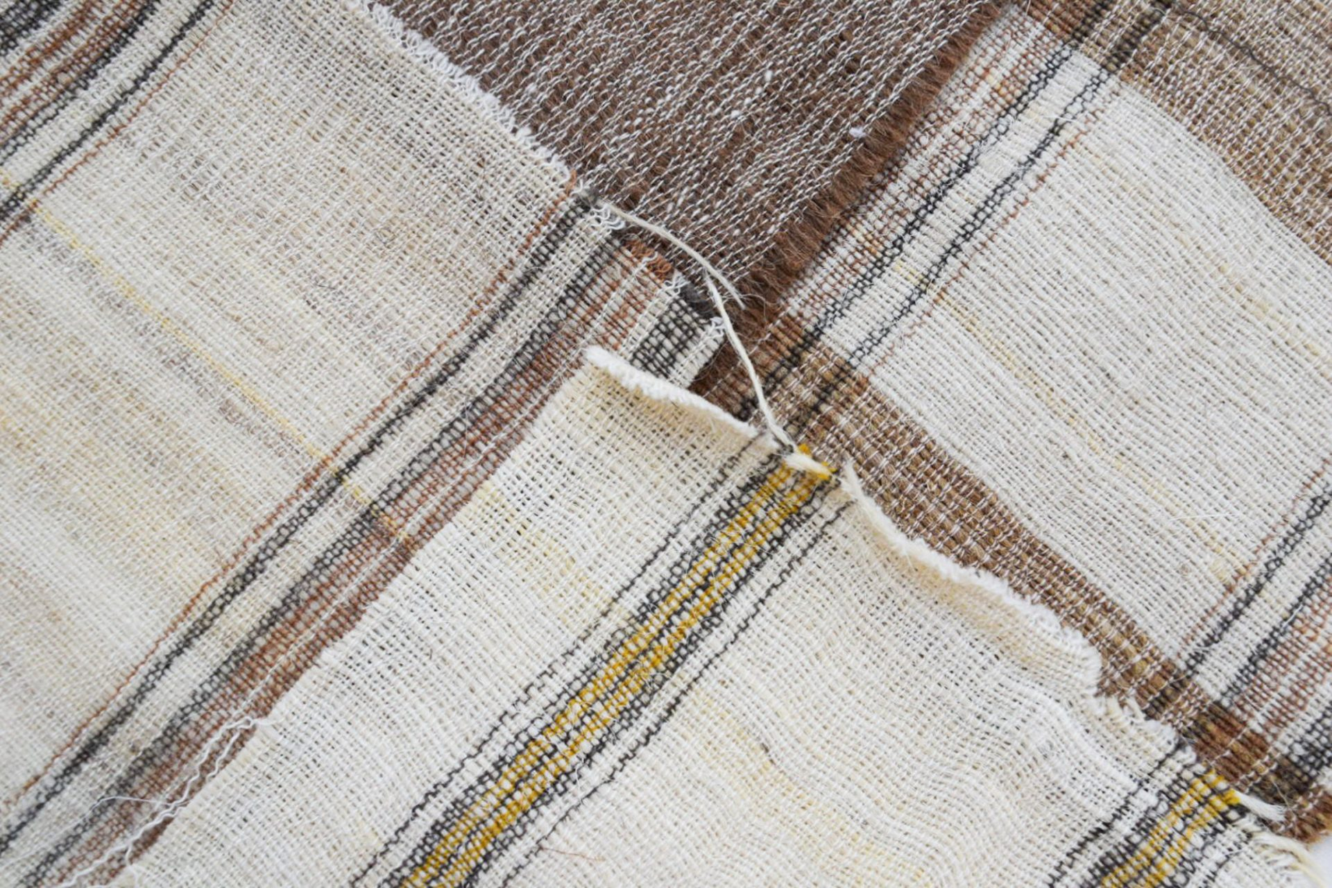 Wool khadi.