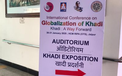 International Conference on Globalisation of Khadi, Jaipur
