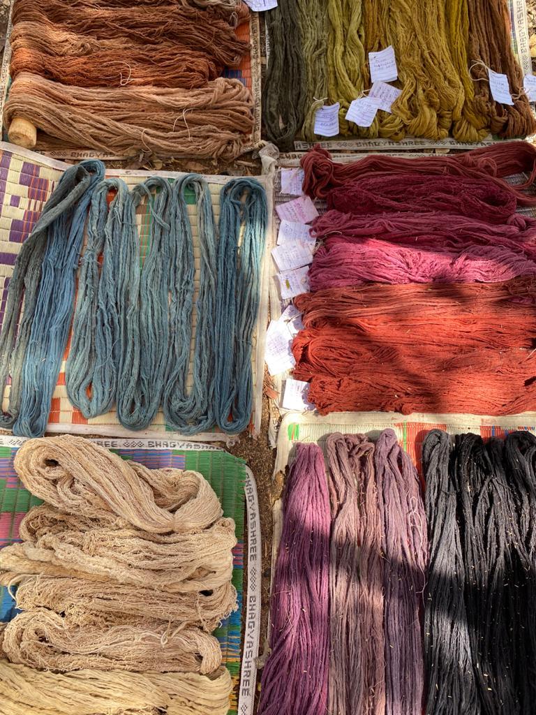 Shades of natural dyes
