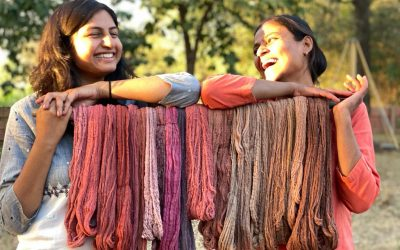 Dancing with Colours: My Love Affair with Natural Dyes