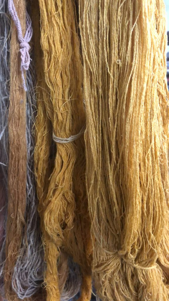 natural material - yarn dyeing